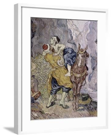 The Good Samaritan, 1890-Vincent van Gogh-Framed Giclee Print