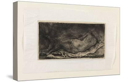 The Negress-Rembrandt van Rijn-Stretched Canvas Print