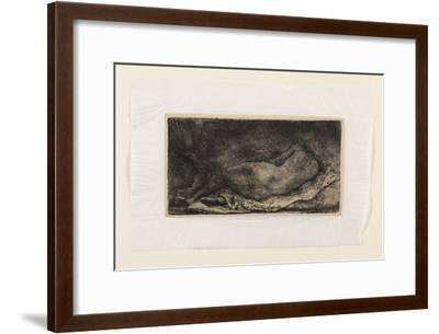 The Negress-Rembrandt van Rijn-Framed Giclee Print