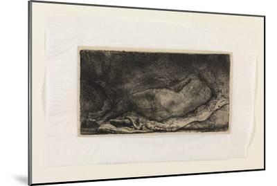 The Negress-Rembrandt van Rijn-Mounted Giclee Print