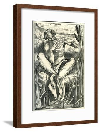 The Great God Pan, 1860-Frederick Leighton-Framed Premium Giclee Print