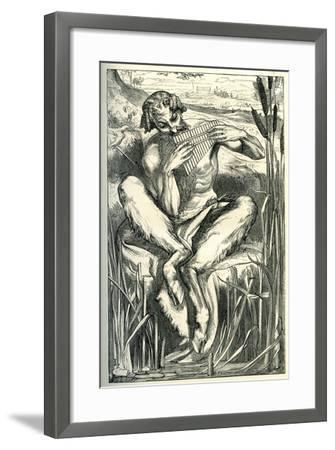 The Great God Pan, 1860-Frederick Leighton-Framed Giclee Print