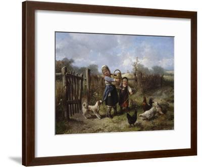 An Arbitary Dog-Jan Mari Henri Ten Kate-Framed Giclee Print