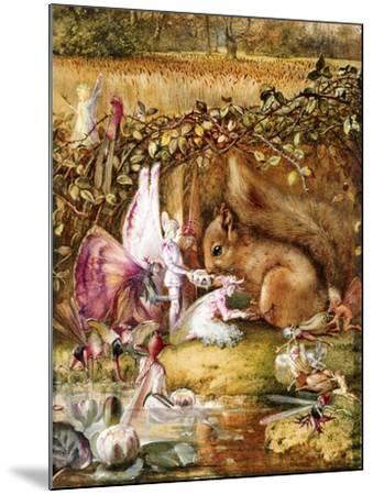 The Wounded Squirrel-John Anster Fitzgerald-Mounted Giclee Print