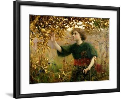 A Golden Dream, 1893-Thomas Cooper Gotch-Framed Giclee Print