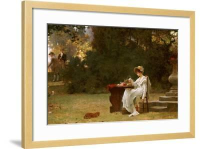 Love at First Sight-Marcus Stone-Framed Giclee Print