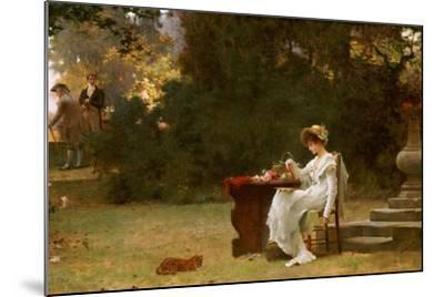 Love at First Sight-Marcus Stone-Mounted Giclee Print