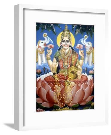 The Goddess Lakshmi--Framed Giclee Print