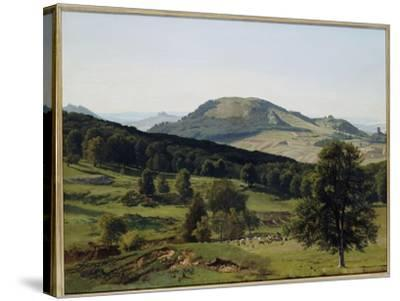 Landscape - Hill and Dale-Albert Bierstadt-Stretched Canvas Print