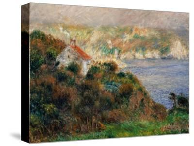 Fog on Guernsey, 1883-Pierre-Auguste Renoir-Stretched Canvas Print