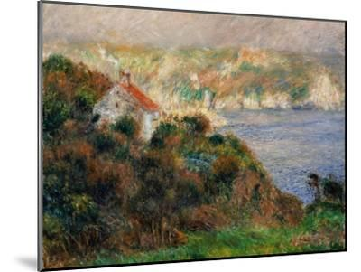 Fog on Guernsey, 1883-Pierre-Auguste Renoir-Mounted Giclee Print