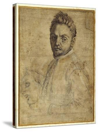Giovanni Gabrielli, 'Il Sivello'-Agostino Carracci-Stretched Canvas Print