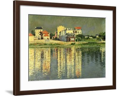 Banks of the Seine at Argenteuil, 1889-Gustave Caillebotte-Framed Giclee Print