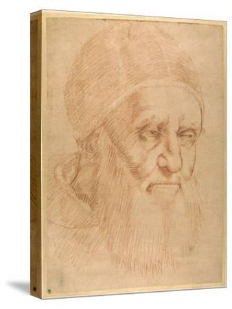 Pope Julius II, after a Cartoon by Raphael-Raphael-Stretched Canvas Print
