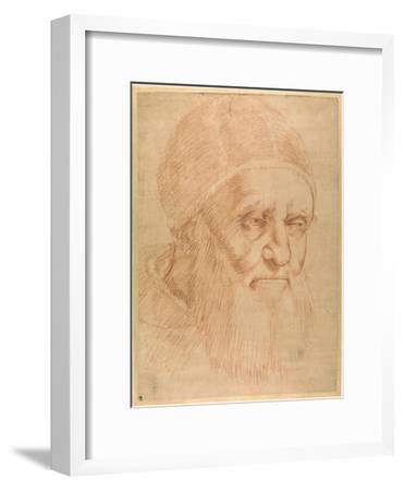 Pope Julius II, after a Cartoon by Raphael-Raphael-Framed Giclee Print
