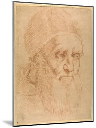 Pope Julius II, after a Cartoon by Raphael-Raphael-Mounted Giclee Print