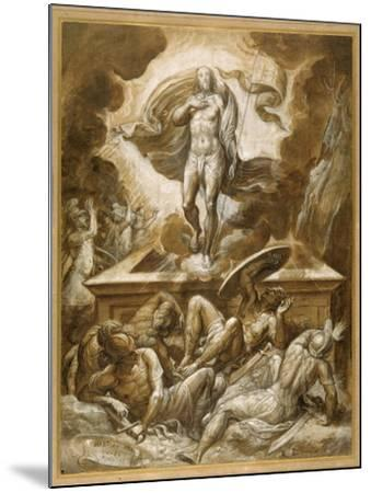 The Resurrection of Christ-Marco dell'Angolo del Moro-Mounted Giclee Print