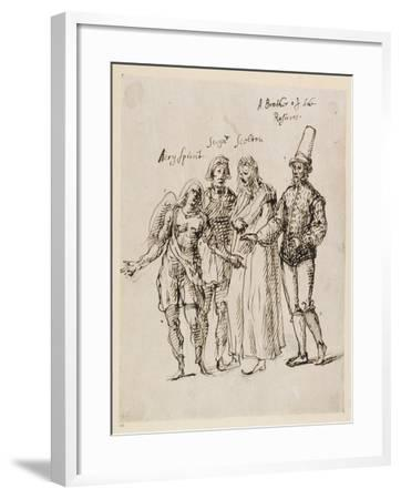 Johphiel, Merefool, Skelton and Scogan, C.1625-Inigo Jones-Framed Giclee Print