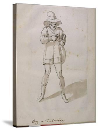 A Seller of Tinder Boxes-Inigo Jones-Stretched Canvas Print