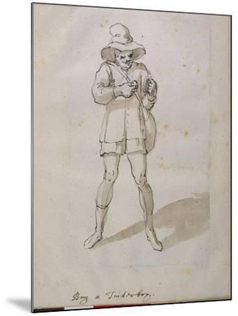A Seller of Tinder Boxes-Inigo Jones-Mounted Giclee Print