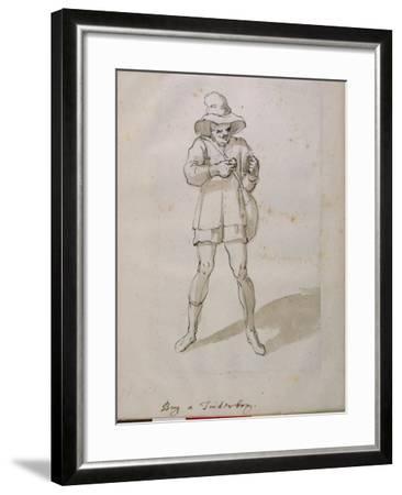 A Seller of Tinder Boxes-Inigo Jones-Framed Giclee Print
