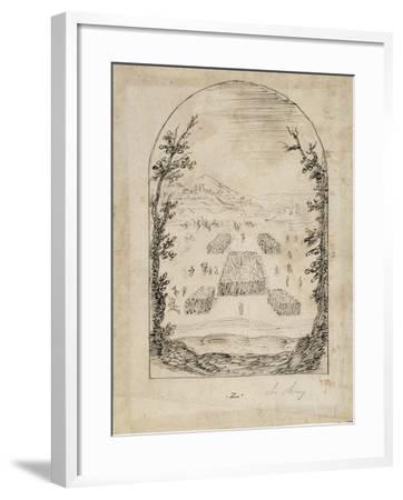 An Army-Inigo Jones-Framed Giclee Print
