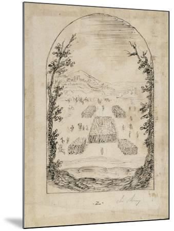An Army-Inigo Jones-Mounted Giclee Print