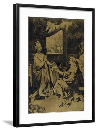The Annunciation-Federico Barocci-Framed Giclee Print