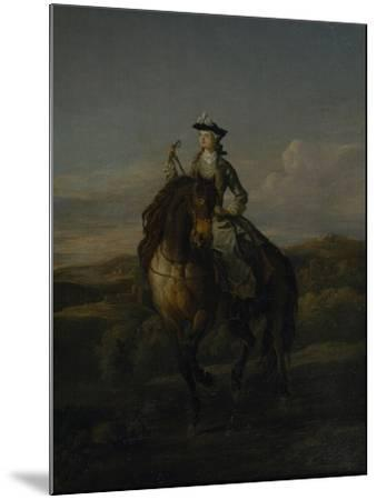 Equestrian Portrait of Charlotte Boyle, Marchioness of Hartington, 1747-William Kent-Mounted Giclee Print