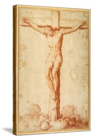 Christ Crucified on Golgotha--Stretched Canvas Print