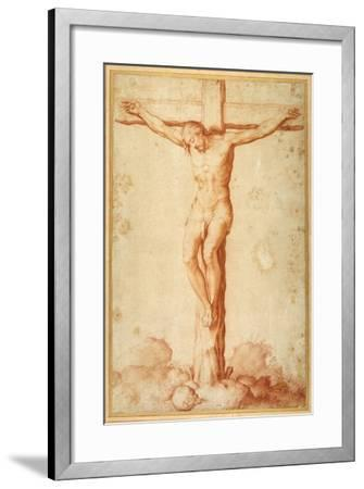 Christ Crucified on Golgotha--Framed Giclee Print