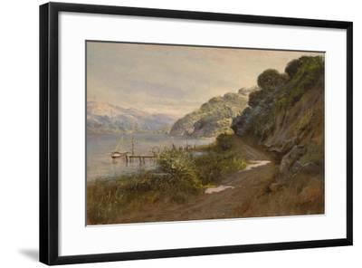 Bolinas Bay and the Summit-Manuel Valencia-Framed Giclee Print