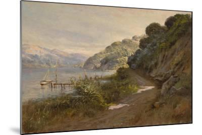 Bolinas Bay and the Summit-Manuel Valencia-Mounted Giclee Print