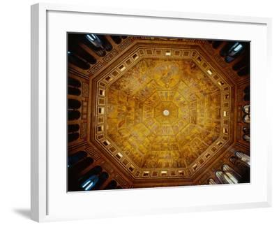 Domed Ceiling of St John's Baptistry, Florence--Framed Giclee Print