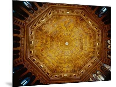 Domed Ceiling of St John's Baptistry, Florence--Mounted Giclee Print