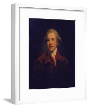 Unknown Man, Called Richard Brinsley Sheridan-Sir Joshua Reynolds-Framed Giclee Print
