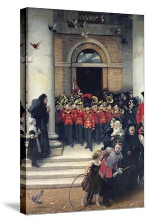 Sons of the Brave, 1880-Philip Richard Morris-Stretched Canvas Print