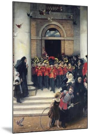 Sons of the Brave, 1880-Philip Richard Morris-Mounted Giclee Print