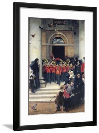 Sons of the Brave, 1880-Philip Richard Morris-Framed Giclee Print