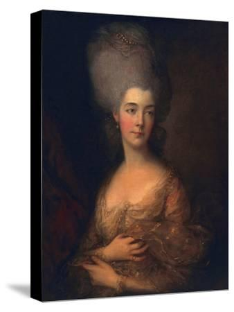 Anne, Duchess of Cumberland, C.1777-Thomas Gainsborough-Stretched Canvas Print