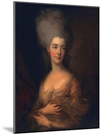 Anne, Duchess of Cumberland, C.1777-Thomas Gainsborough-Mounted Giclee Print