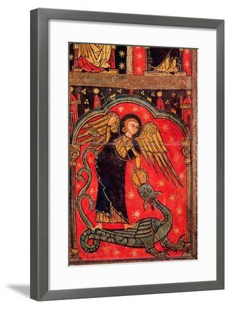 St. Michael Fighting the Dragon--Framed Giclee Print