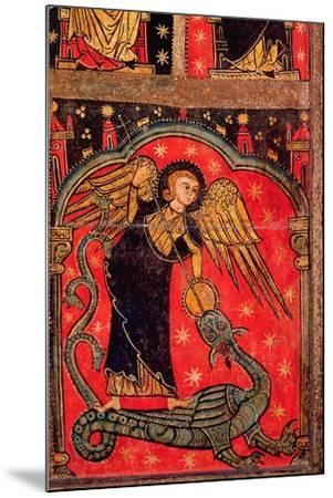 St. Michael Fighting the Dragon--Mounted Giclee Print