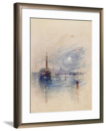 Margate, Possibly C.1840-J^ M^ W^ Turner-Framed Giclee Print