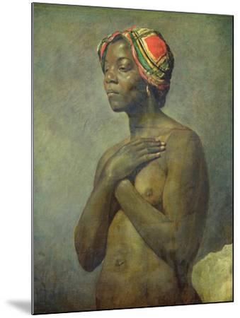 A Black Woman--Mounted Giclee Print