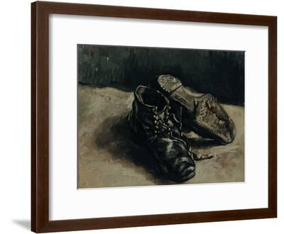 A Pair of Shoes, 1886-Vincent van Gogh-Framed Giclee Print