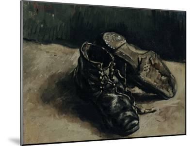 A Pair of Shoes, 1886-Vincent van Gogh-Mounted Giclee Print