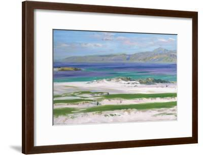 Iona Sound and Ben More-Francis Campbell Boileau Cadell-Framed Giclee Print