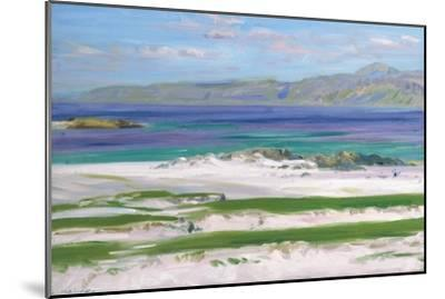 Iona Sound and Ben More-Francis Campbell Boileau Cadell-Mounted Giclee Print