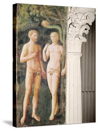 The Temptation of Adam and Eve, C.1423-25-Tommaso Masolino Da Panicale-Stretched Canvas Print